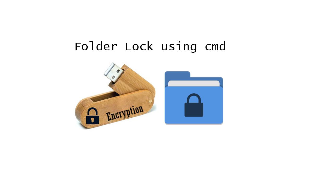 Pendrive folder lock using cmd in windows