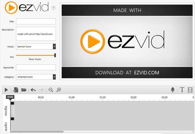 ezvid screen video recorder
