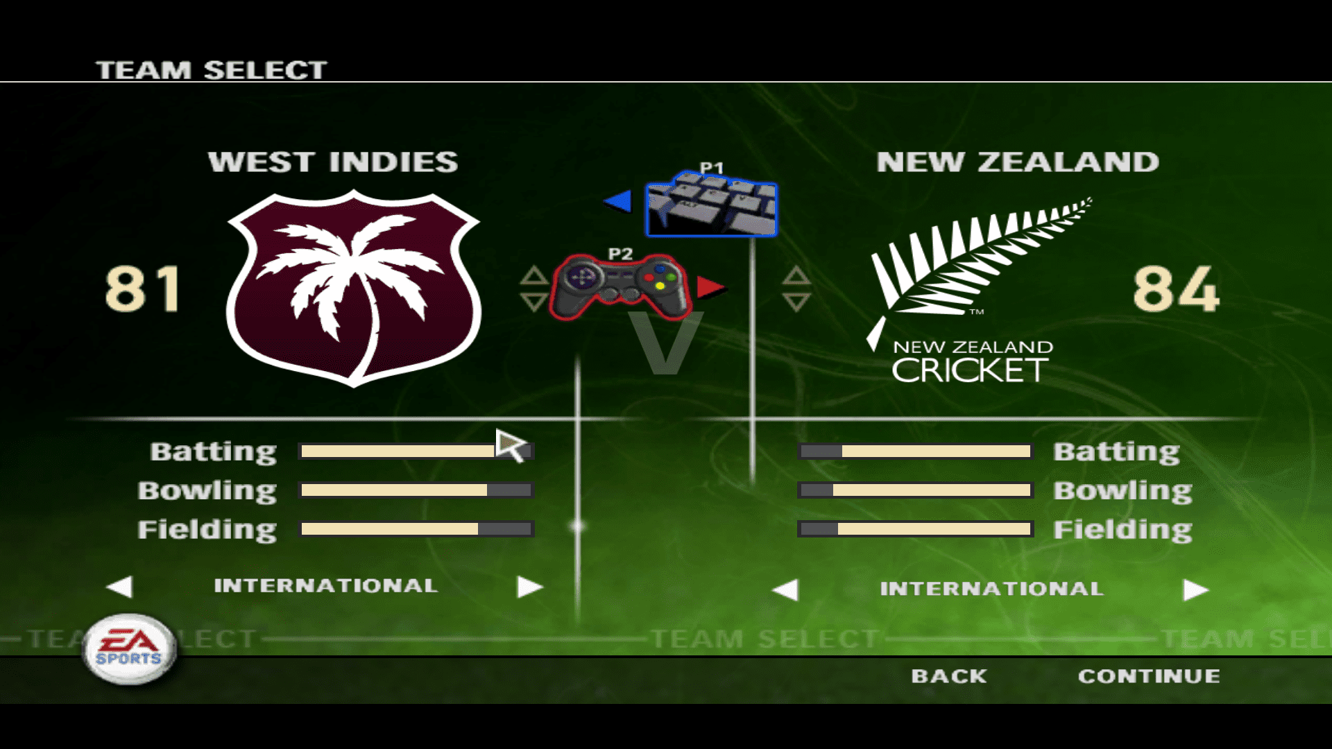 cricket 2007 two player mode